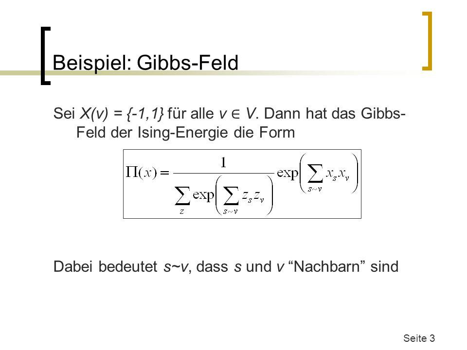 Beispiel: Gibbs-Feld