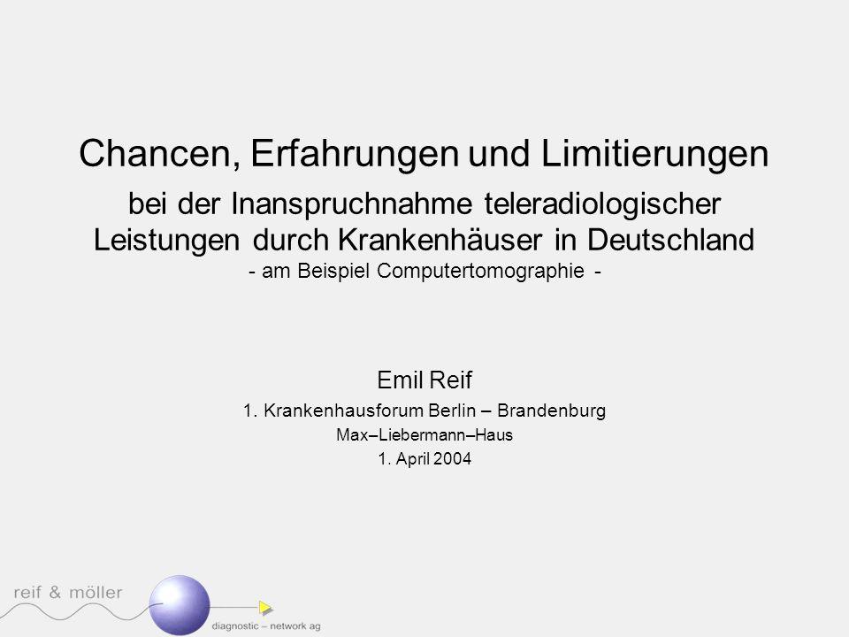 1. Krankenhausforum Berlin – Brandenburg
