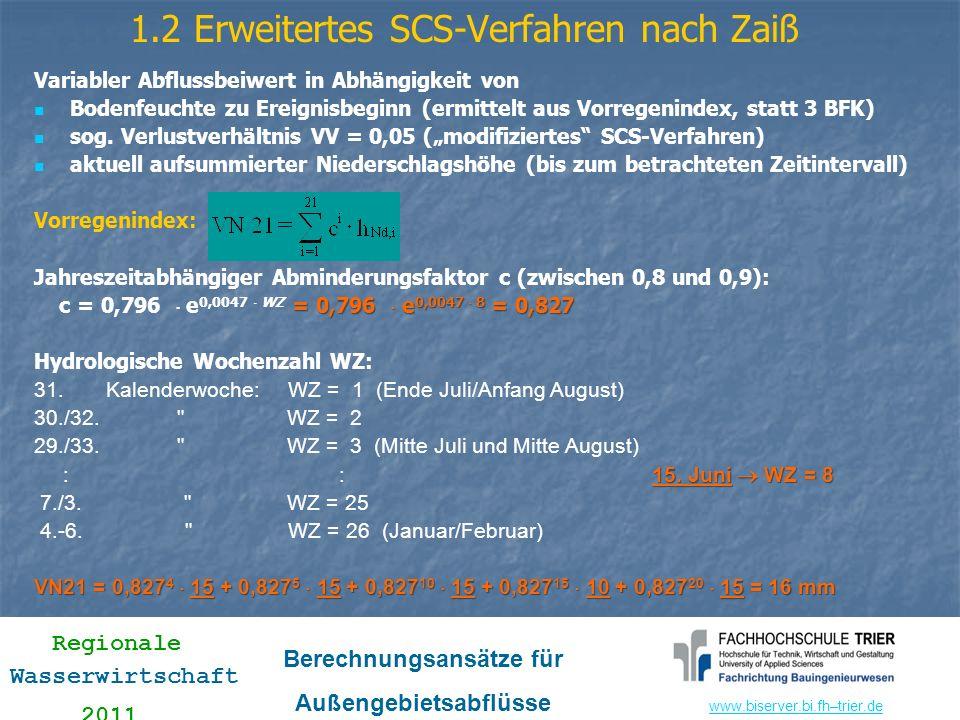 1.2 Erweitertes SCS-Verfahren nach Zaiß