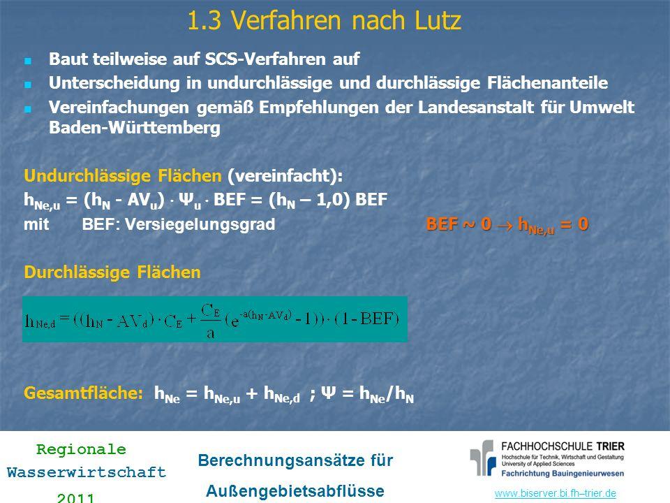 1.3 Verfahren nach Lutz Baut teilweise auf SCS-Verfahren auf