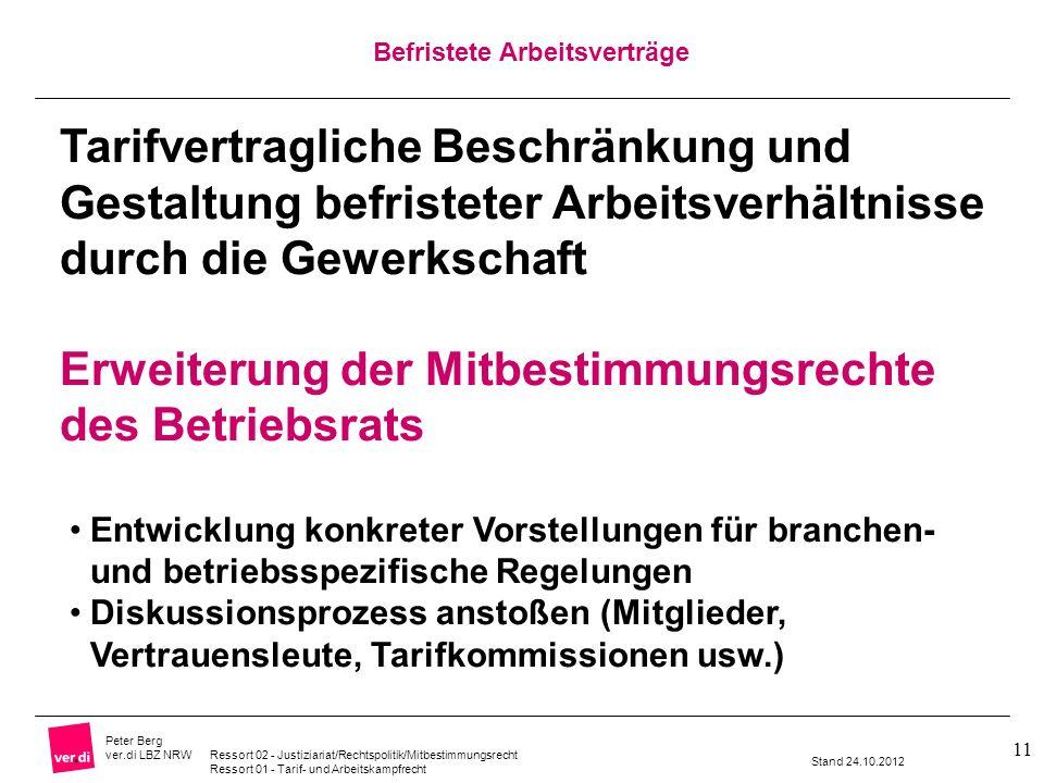 Erweiterung der Mitbestimmungsrechte des Betriebsrats