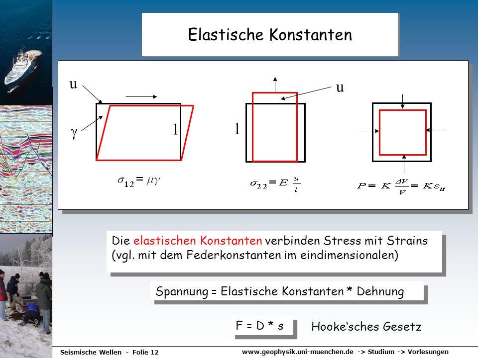Elastische Konstanten