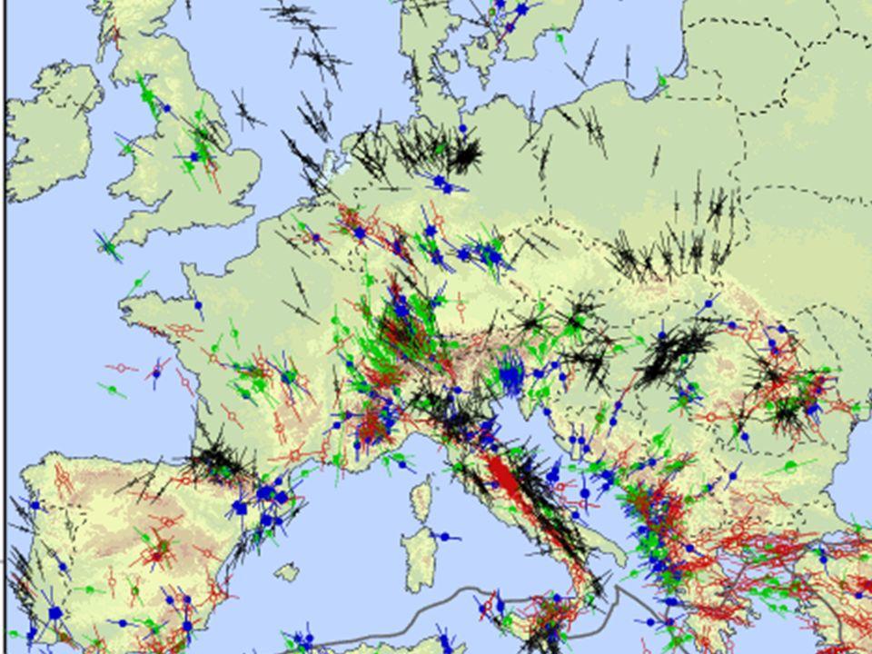 World Stress Map: Europe