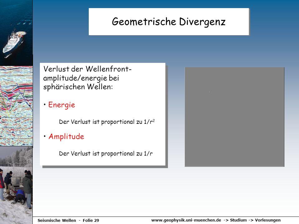 Geometrische Divergenz