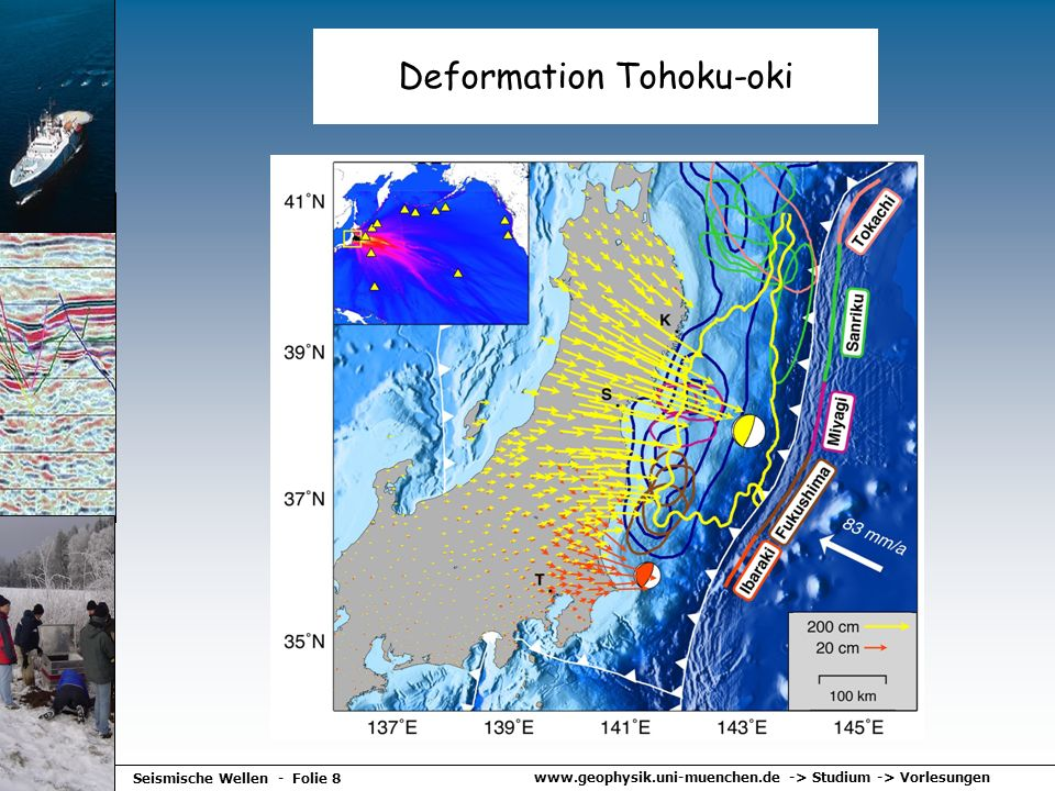 Deformation Tohoku-oki