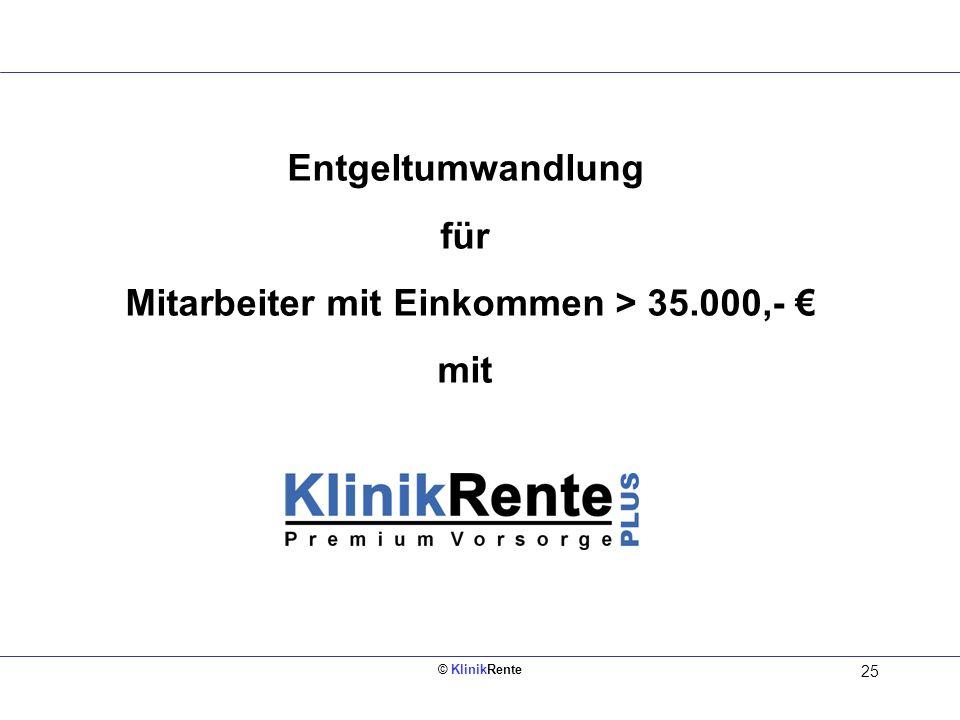 Mitarbeiter mit Einkommen > 35.000,- €