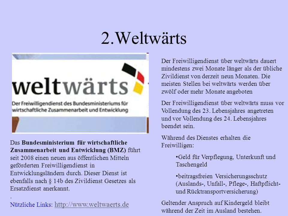2.Weltwärts