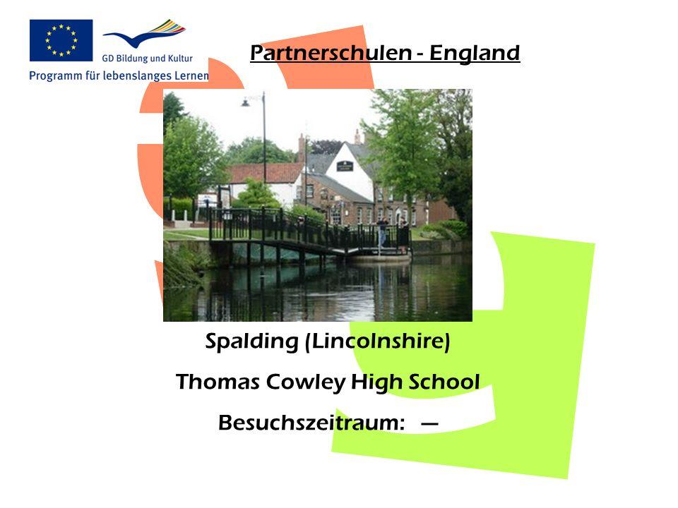Partnerschulen - England