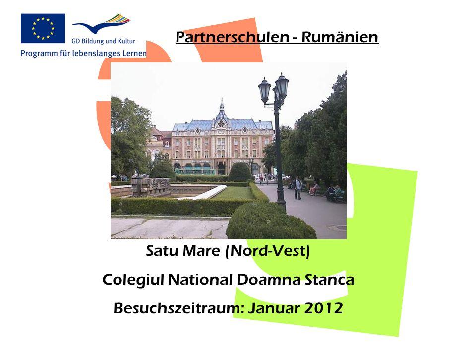 Partnerschulen - Rumänien