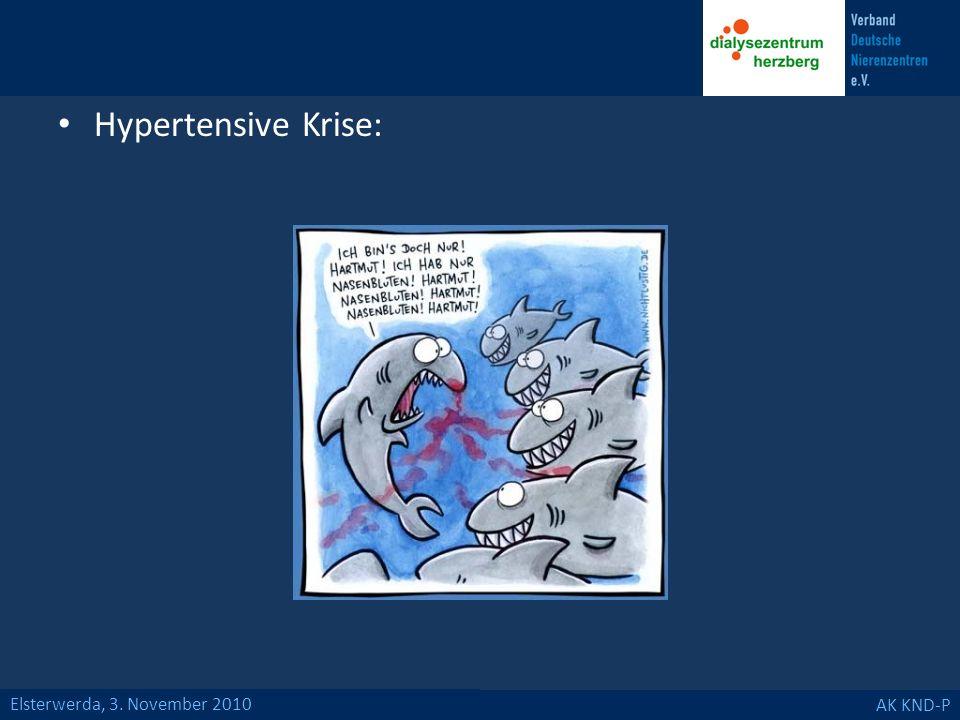 Hypertensive Krise: