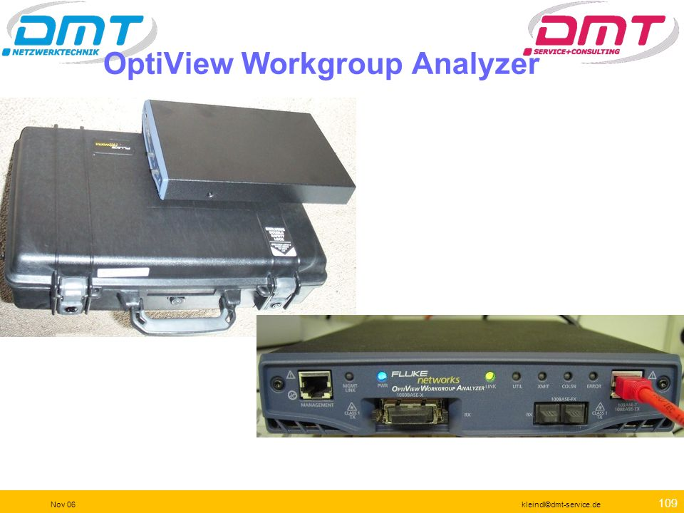 OptiView Workgroup Analyzer