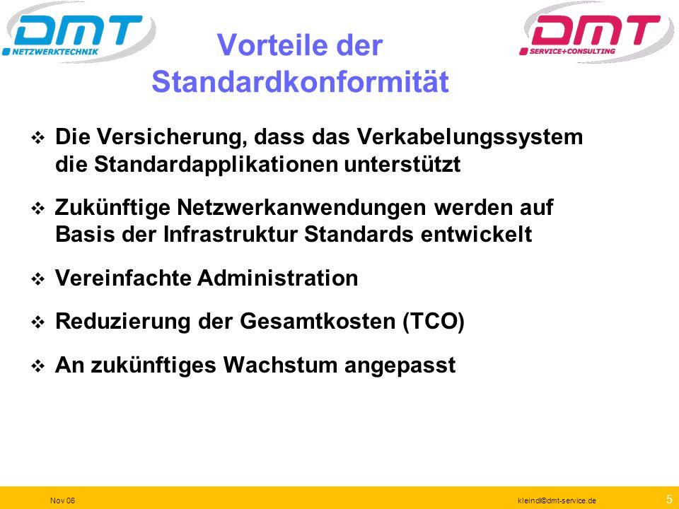 Vorteile der Standardkonformität