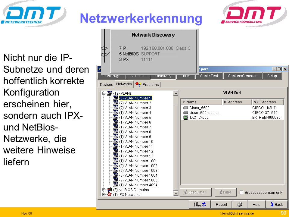 Netzwerkerkennung