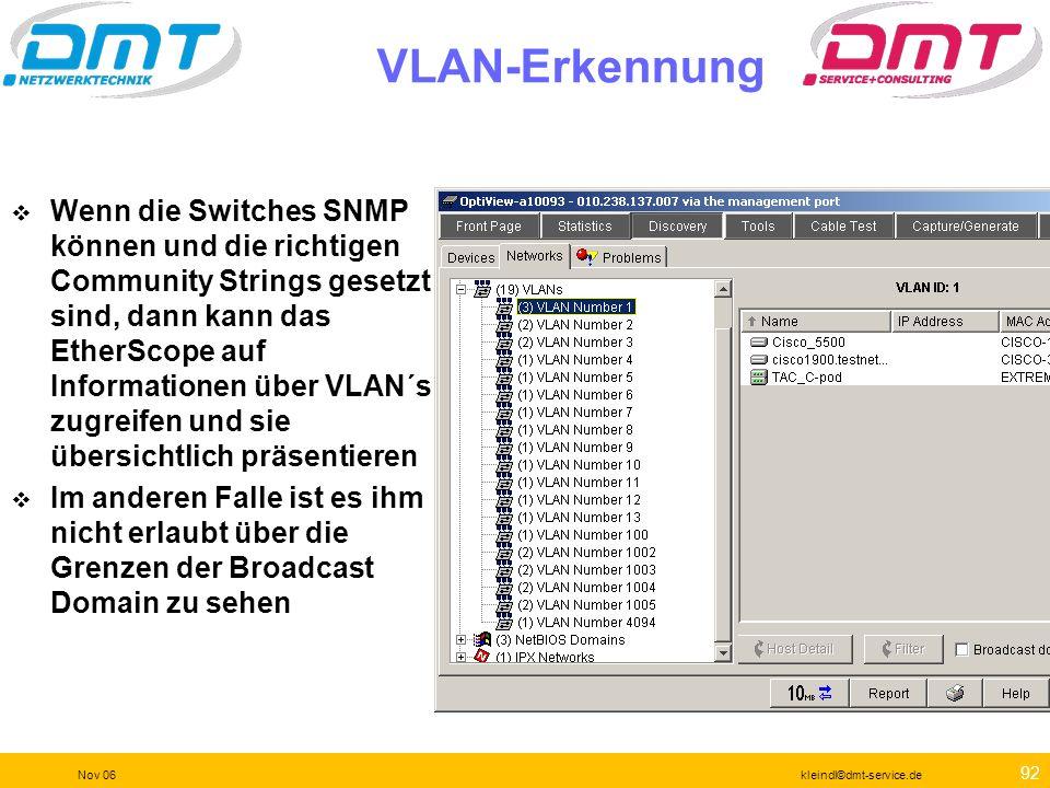 VLAN-Erkennung