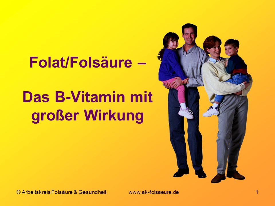 Folat/Folsäure – Das B-Vitamin mit großer Wirkung
