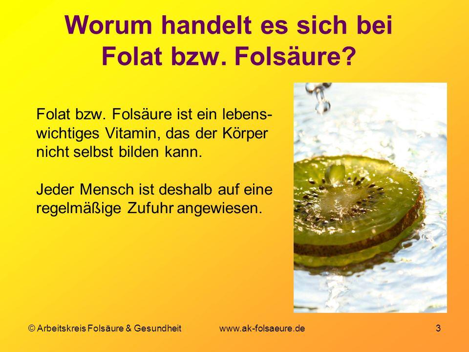 Worum handelt es sich bei Folat bzw. Folsäure
