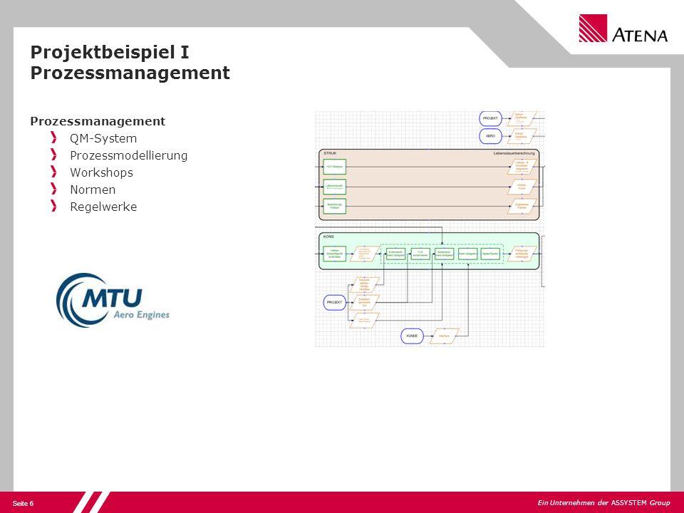 Projektbeispiel I Prozessmanagement