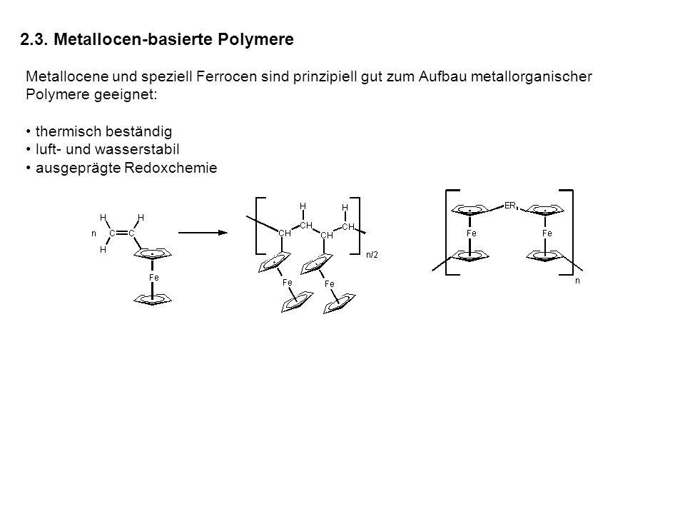 2.3. Metallocen-basierte Polymere