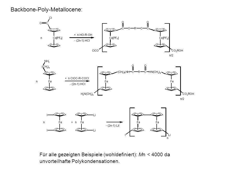 Backbone-Poly-Metallocene: