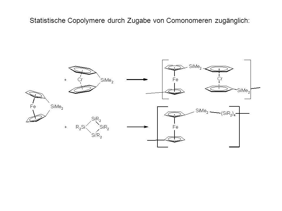Statistische Copolymere durch Zugabe von Comonomeren zugänglich: