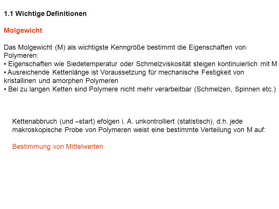 1.1 Wichtige Definitionen