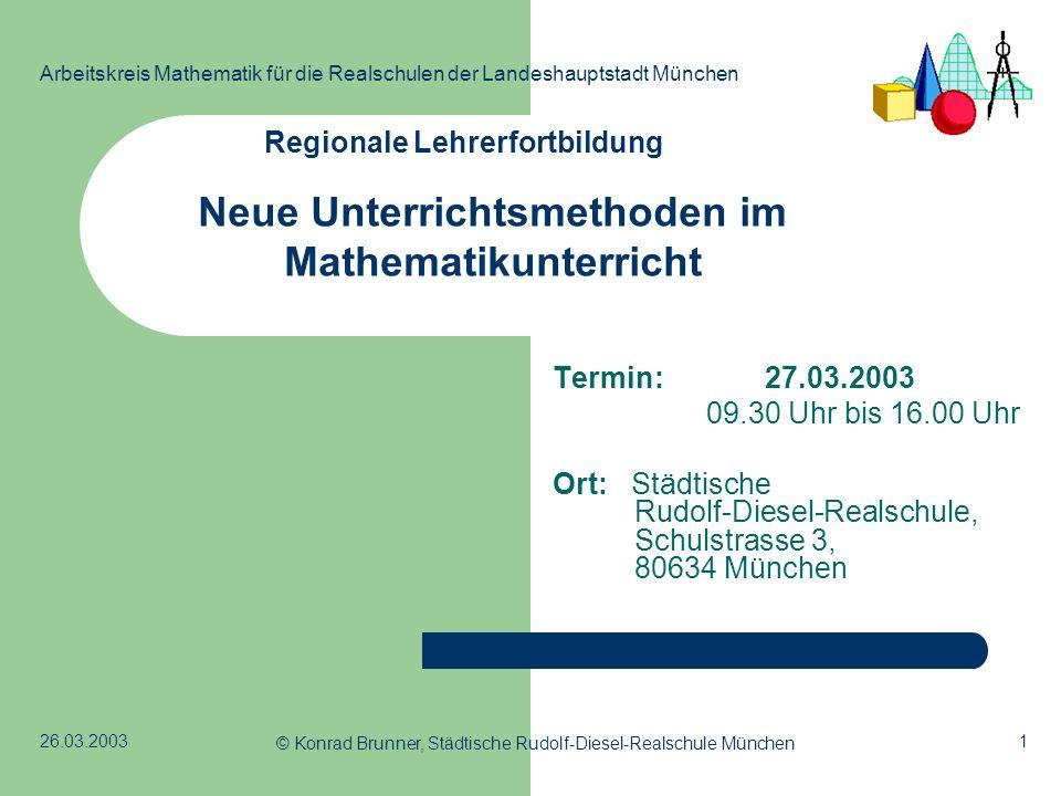 Regionale Lehrerfortbildung
