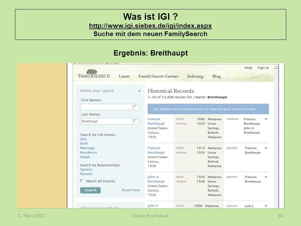 Was ist IGI. http://www. igi. siebes. de/igi/index