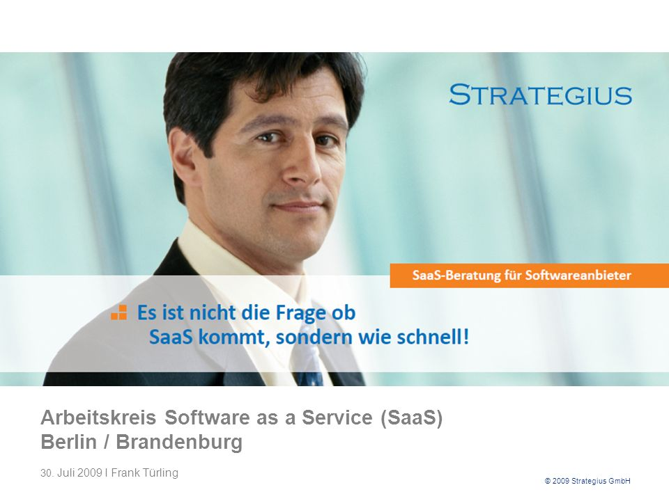 Arbeitskreis Software as a Service (SaaS) Berlin / Brandenburg 30