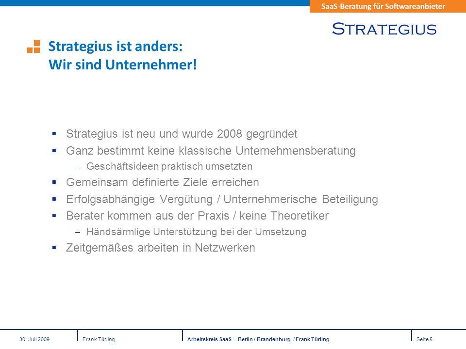 Strategius ist anders: Wir sind Unternehmer!