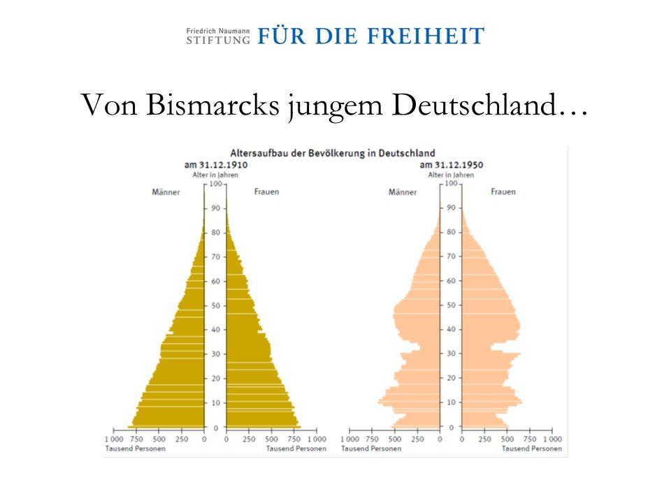 Von Bismarcks jungem Deutschland…