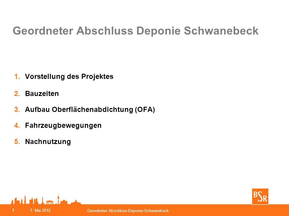 Geordneter Abschluss Deponie Schwanebeck