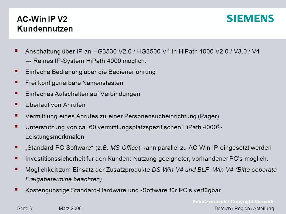 AC-Win IP V2 Kundennutzen