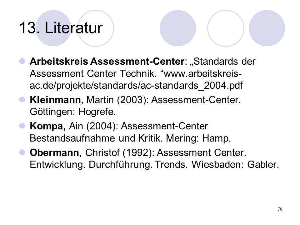 13. Literatur