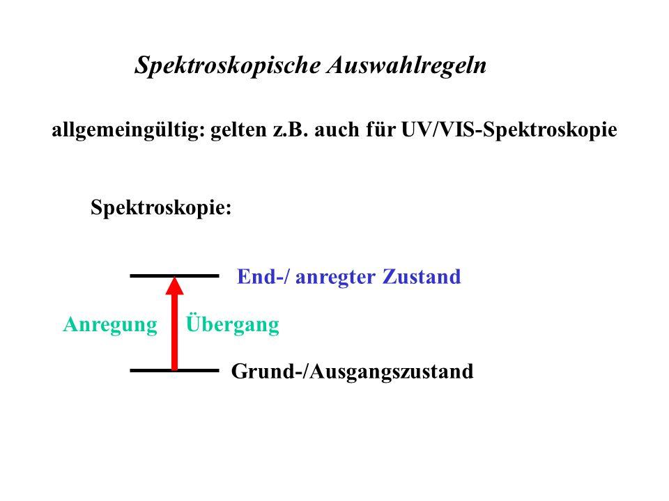 Spektroskopische Auswahlregeln