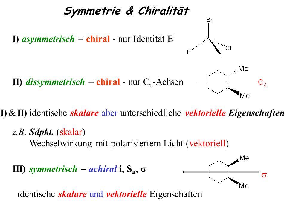Symmetrie & Chiralität