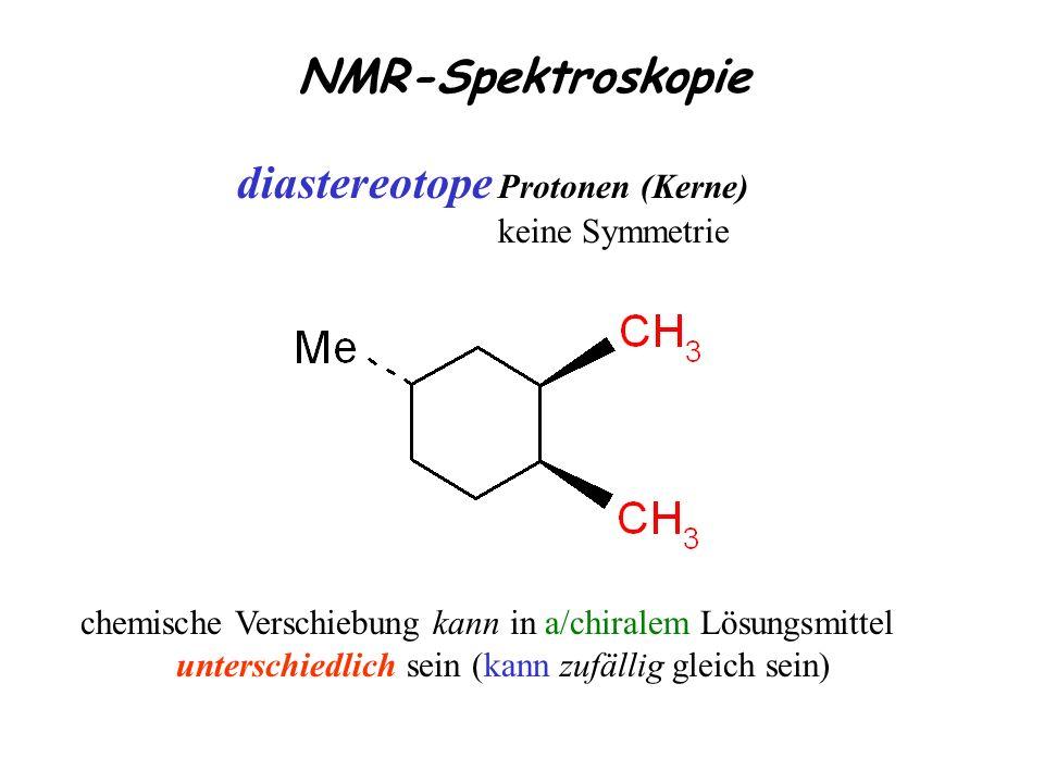 diastereotope Protonen (Kerne)