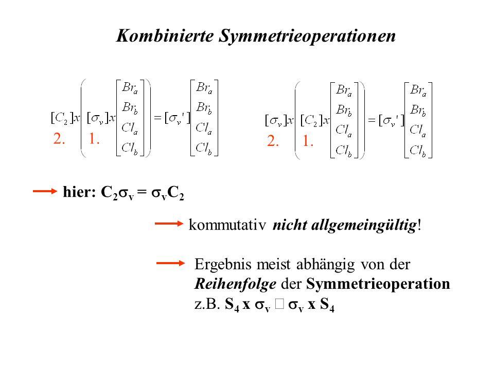 Kombinierte Symmetrieoperationen