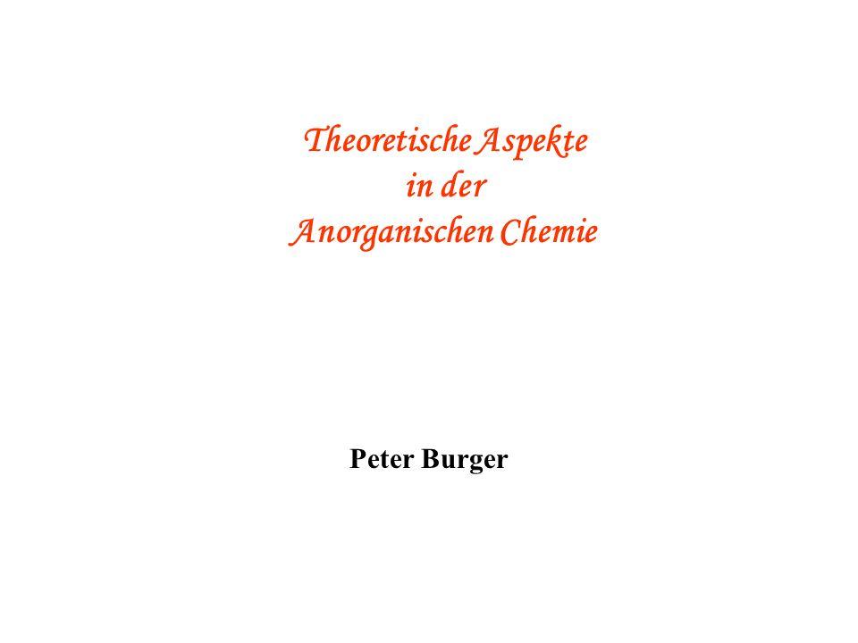 Reaktionsmechanismen in der (Anorganischen) Chemie