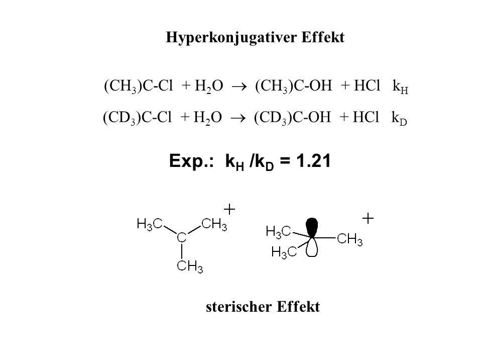 Hyperkonjugativer Effekt