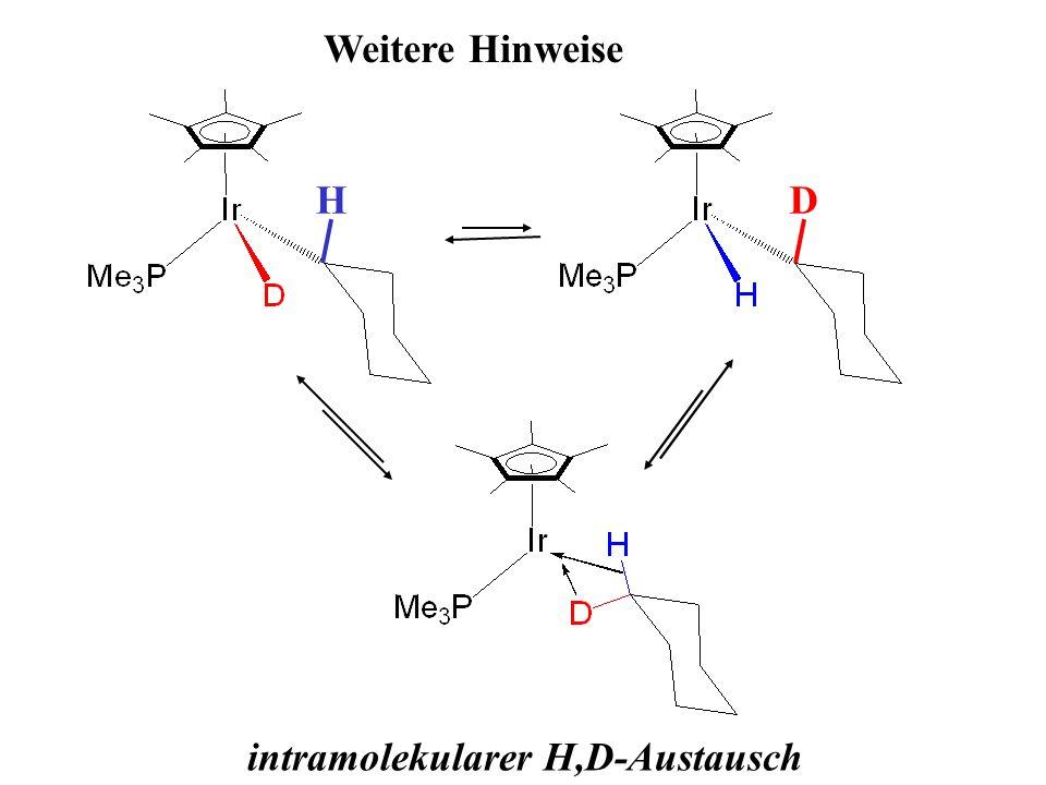intramolekularer H,D-Austausch