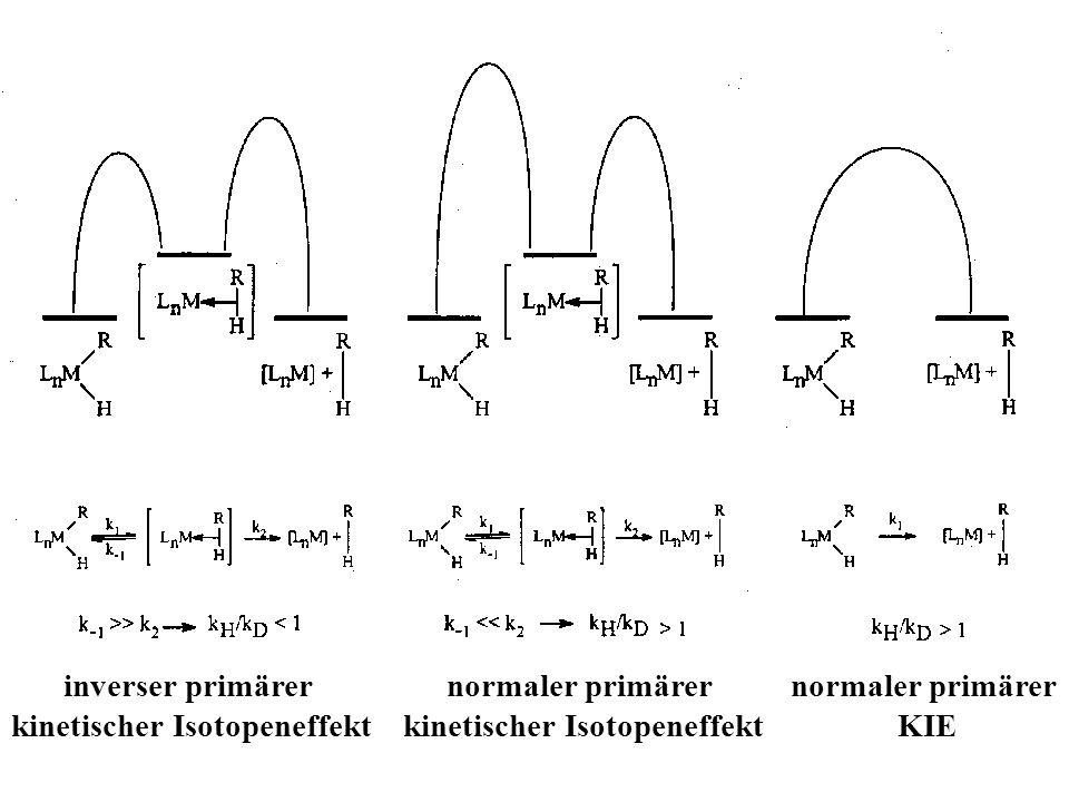 kinetischer Isotopeneffekt kinetischer Isotopeneffekt