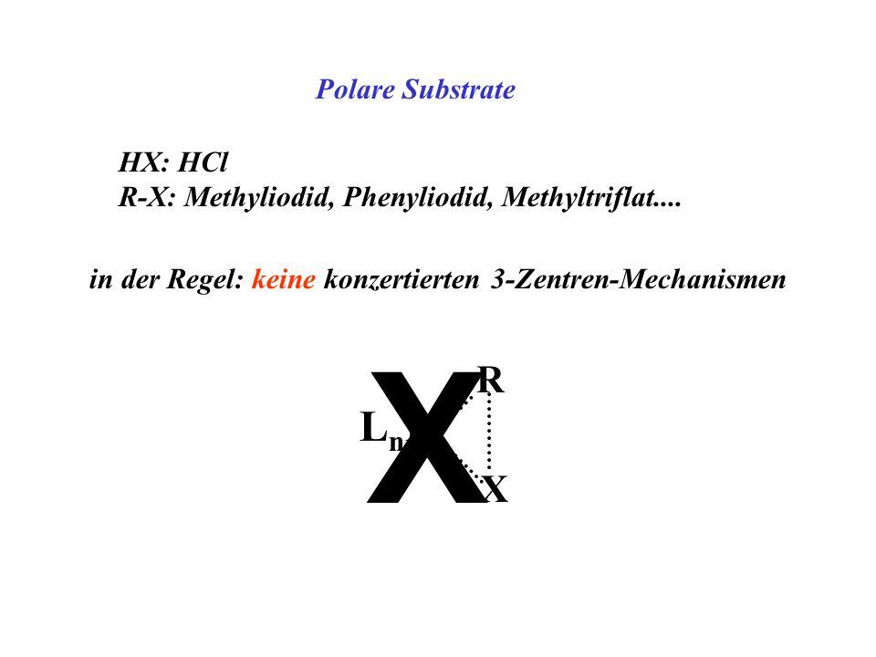X LnM R X Polare Substrate HX: HCl