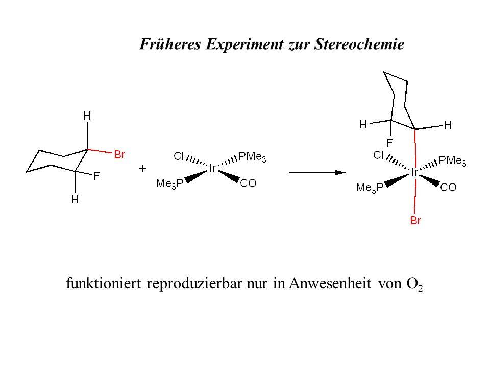 Früheres Experiment zur Stereochemie