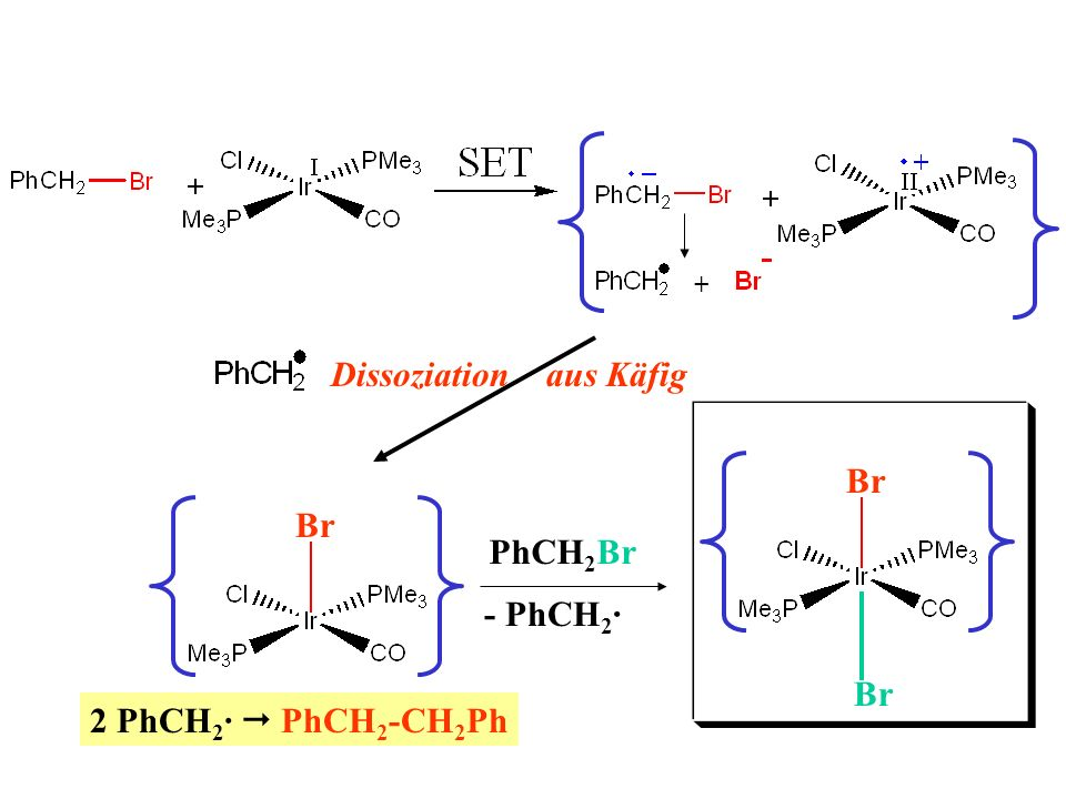 Br - PhCH2· Br PhCH2Br 2 PhCH2·  PhCH2-CH2Ph