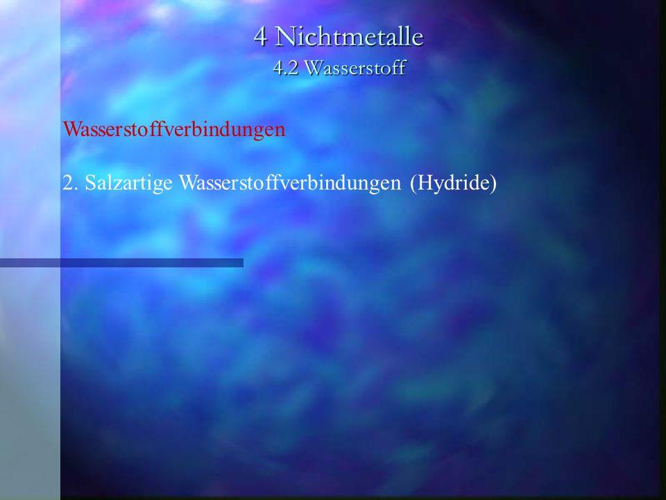 4 Nichtmetalle 4.2 Wasserstoff