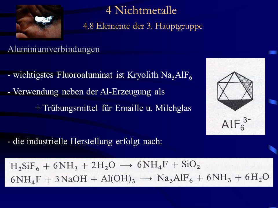 4 Nichtmetalle 4.8 Elemente der 3. Hauptgruppe