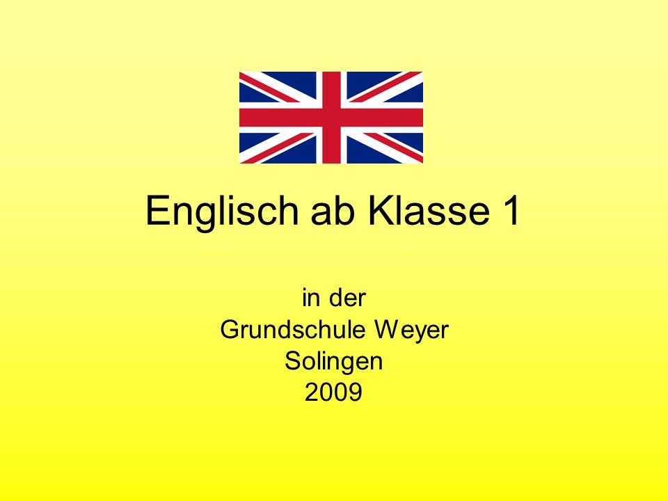 in der Grundschule Weyer Solingen 2009