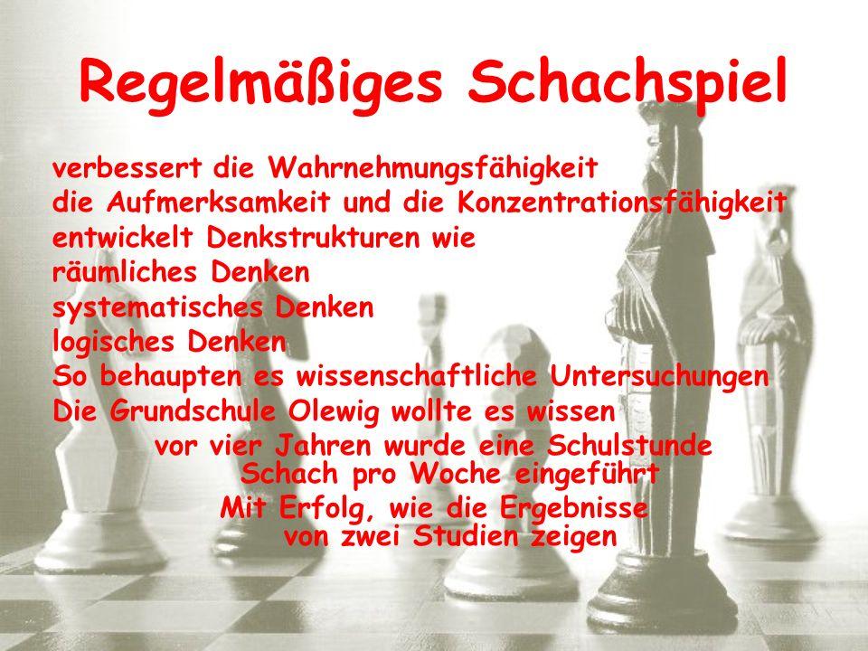 Regelmäßiges Schachspiel