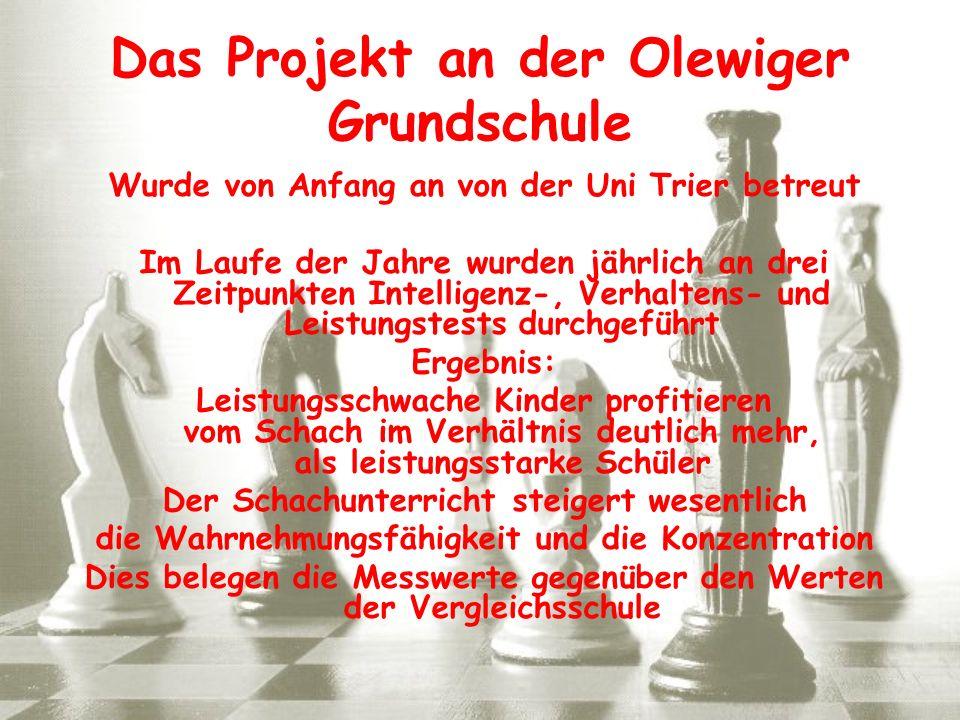 Das Projekt an der Olewiger Grundschule