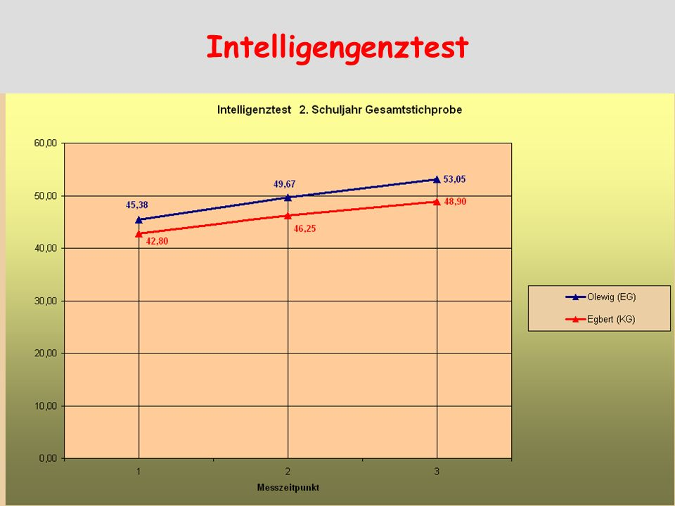 Intelligengenztest